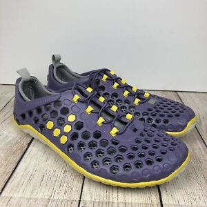 Vivobarefoot Mens Ultra Amphibious Water Shoes Purple Yellow 42 EUR US 9