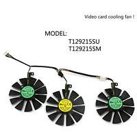 12V Cooler Fan Pour ASUS Strix GTX 1060 1070 1080 Ventilateur de Carte Graphique