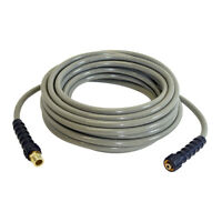 "3700 PSI Cold Water 50' Pressure Washer MorFlex Hose 5/16"" with Adapter 40226"
