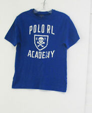 Ralph Lauren Boys Graphic Jersey Tee Rugby Royal Sz 4/4T - NWT