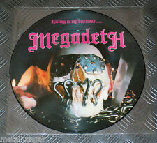 Megadeth 'Killing Is My Business' 1st Press UK '85 Original LP Picture Disc Rare