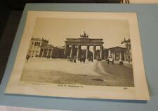 1905 Era Brandenburg Arch Berlin Germany Photo New Photography Society 3616