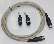 Commodore 64/128/116/16/+4 Serial Kabel für Floppy/Drucker 1M.