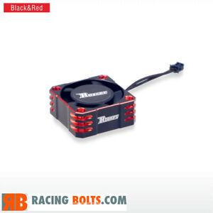 Surpass Rocket 25mm Aluminium High Speed 32000rpm fan Red / Black UK Stock