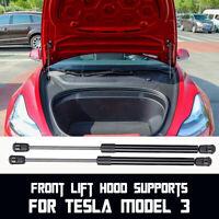 2Pcs Car Front Hood Lift Support Shock Strut Damper Arm For Tesla Model 3