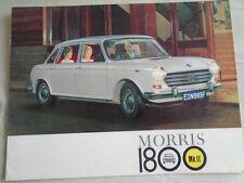 Morris 1800 brochure MK II c1968 Italian text