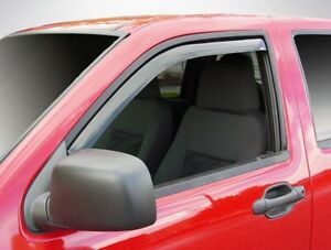 In-Channel Vent Visors for 2004 - 2012 Chevy Colorado Standard/Extended Cab