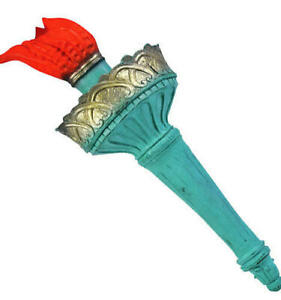 Statue of Liberty Rubber Torch Adults Fancy Dress American Costume Accessory New
