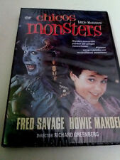 "DVD ""CHICOS MONSTERS"" PRECINTADO SEALED RICHARD GREENBERG FRED SAVAGE HOWIE MAND"