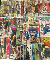 Huge 50 Issue Wolverine Comic Book Lot! Fine to Near Mint Marvel Comics BBX12