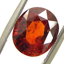 4.65 Ct Certified Natural Ceylon Hessonite Gomed Loose Untreated Gemstone- 44370