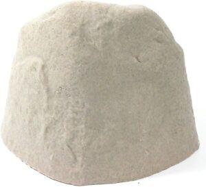 Landscape Garden Rock Fake Medium Sandstone Valve Pipe Well Cover Decor Outdoor