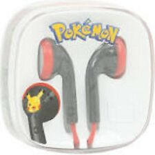POKEMON PIKACHU EARBUDS EARPLUGS HEADPHONES MUSIC IPHONES IPADS ANDROIDS NEW