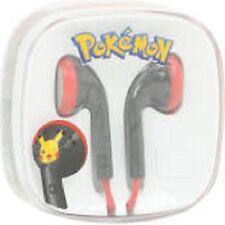 POKEMON PIKACHU EAR BUDS EARPLUGS HEADPHONES MUSIC/IPHONES/IPADS/ANDROIDS NEW