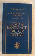 AISC Load & Resistance Factor Design (1986 Softcover) S-328