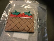 KATE SPADE Pinic Perfect Strawberry 🍓Card Case Holder Mini Wallet PWRU6285 NWT