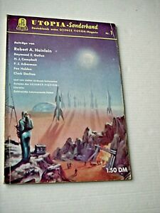 UTOPIA Sonderband Nr.  1 - Anthologie    (Pabel 1955- 59)