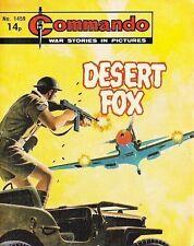 Commando For Action & Adventure Comic Book Magazine #1459 DESERT FOX