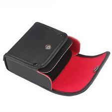 Leather Lens Filter Wallet Case 3 pockets For 49mm-77mm holder Pouch UV E