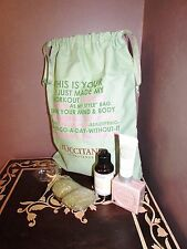L'Occitane Gift Set in Large Drawstring Bag - Everything New in Package and Mint