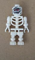 Lego 2x weißes Skelett  Mumie Mumienskelett white Mummy skeleton Minifigur Neu