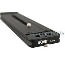 KIWI 150mm Metal Quick Release Lens Plate ARCA Type for Canon Nikon Leica Lens
