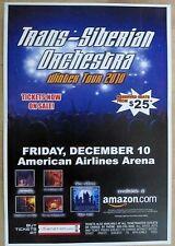 Trans-Siberian Orchestra - Winter Tour 2010 Concert Poster - Miami 12/10/10 - Nm