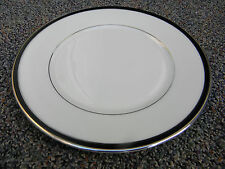 "Pair of Lenox Black Royale 8 1/4"" salad plates. Free shipping! minor wear if any"