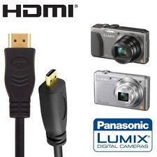 CABLE MICRO HDMI / HDMI POUR PANASONIC LUMIX SX9 TZ40 DMC-TZ40 DMC-LF1 DMC-FT5