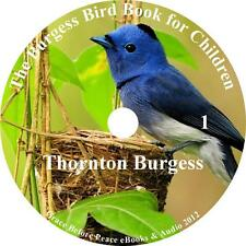 The Burgess Bird Book for Children, Thornton Burgess Audiobook on 1 MP3 CD