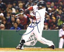 PABLO SANDOVAL BOSTON RED SOX AUTOGRAPHED SIGNED 8X10 PHOTO #1 W/COA