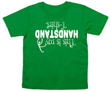 "handstand CAMISETA ""This Is My ""Divertido Gimnasia Ropa"