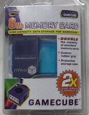 Sealed in Package Nintendo Nyko GameCube 8MB High Capacity Storage Memory Card