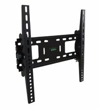 LCD LED PLASMA FLAT TILT TV WALL MOUNT BRACKET 30 32 37 42 46 50 52 55 LOCKABLE