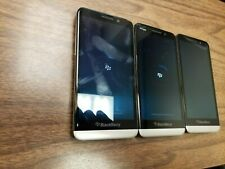 Lot Of 3Pcs BlackBerry Z30 - 16Gb - Black (Unlocked) Fair Condition - Read!
