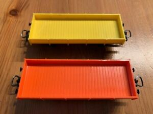 Primex H0 P4596 Set Niederbordwagen