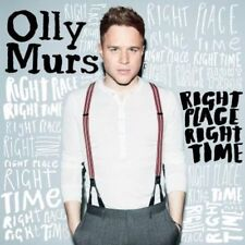 OLLY MURS RIGHT PLACE RIGHT TIME SLEEVED CD