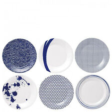 Pacific by Royal Doulton 23cm Plate Set of 6 Blue