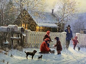 Country Memories by G. Harvey. (Christmas 2000 Series) #1902/2450