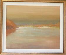 Colin Parker original oil titled 'The Hawkesbury River' Australia