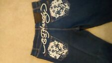 Ed Hardy Jeans (New) Blue Men's Size 34x32