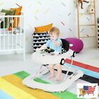 2-in-1 Foldable Child Walker with Music Player and Lights