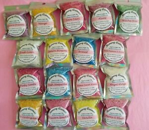 Scented Sizzlers/Simmering Granules Crystals for Wax Melt Burner/Warmer