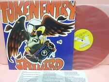 RED WAX TOKEN ENTRY JAYBIRD GOK44 GO KART RECORDS NYHC STRAIGHT EDGE YOUTH CREW