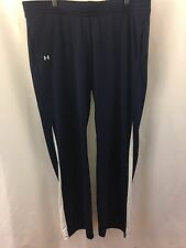 UNDER ARMOUR All Season Gear Sweatpants Pants XL Men Navy Blue Soccer Track NWT