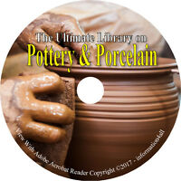 80 Books on DVD – Ultimate Library on Pottery & Porcelain – How to