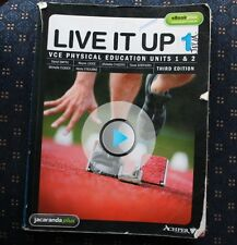 LIVE IT UP VCE PHYSICAL EDUCATION UNIT 1&2 USED BOOK  PAPERBACK PICK UP ONLY