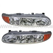 NEWMAR KOUNTRY STAR 2002 2003 2004 HEADLIGHTS HEAD LIGHTS FRONT LAMPS PAIR RV