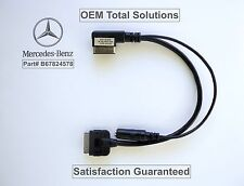 Mercedes SUV 2009-12 OEM MI-3G iPod iPhone Media Interface 30pin Music Aux Cable