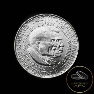 1952 Washington Carver Silver Commemorative Half Dollar~ULTRA BU GEM~High Grade~